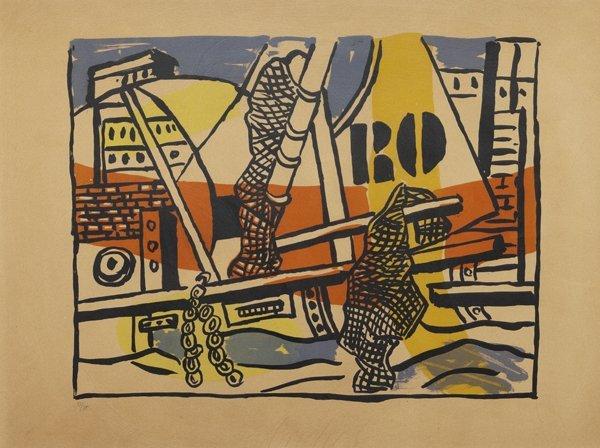 Fernand Léger  (Argentan 1881 – Gif sur Yvette 1955)  L
