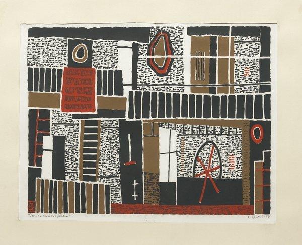 Luigi Spacal (Trieste 1907 –  2000) La casa del Bosforo