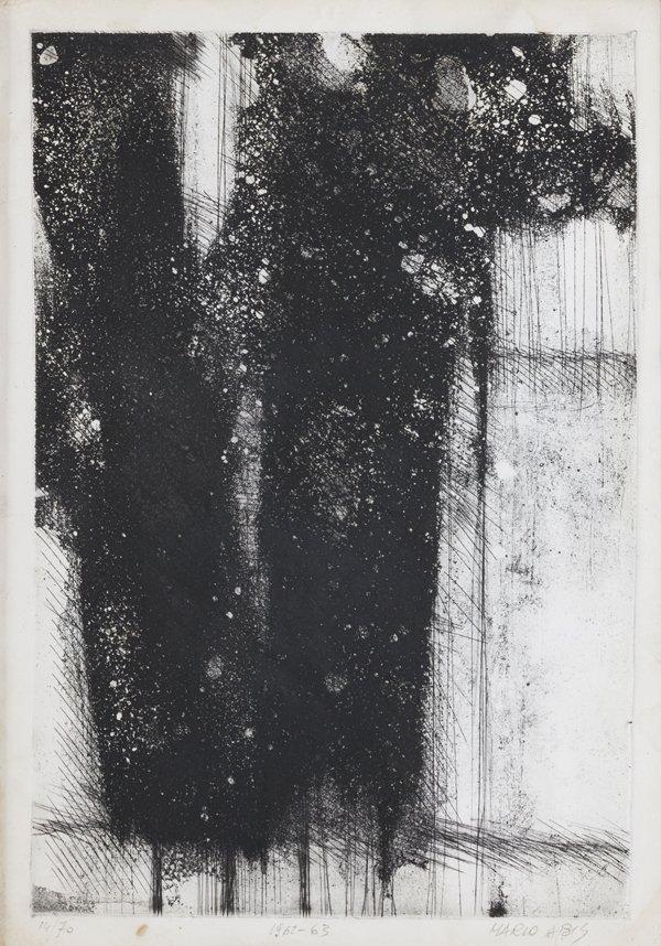 Mario Abis (Chioggia 1924) Composizione, 1962 - '63