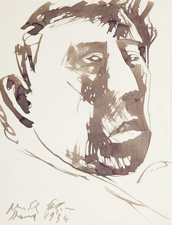 Pericle Fazzini (Grottammare 1913 – Roma 1987) Volto vi
