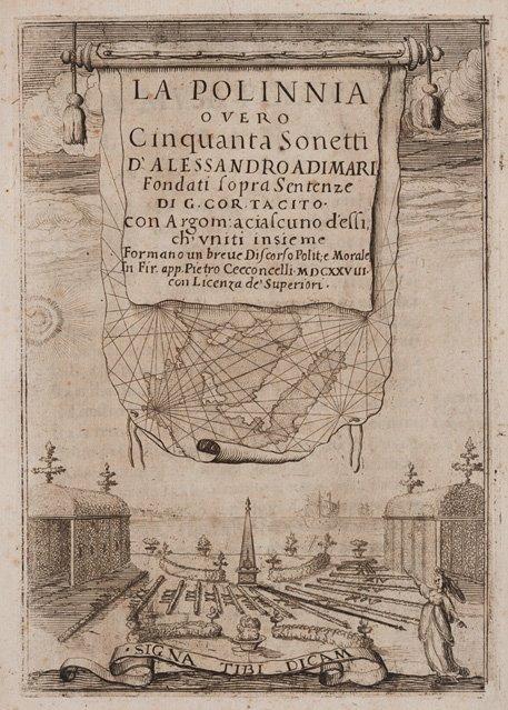 Adimari, Alessandro La Polinnia overo cinquanta sonetti