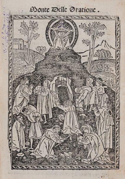 Agostino, Aurelio Santo Monte delle oratione