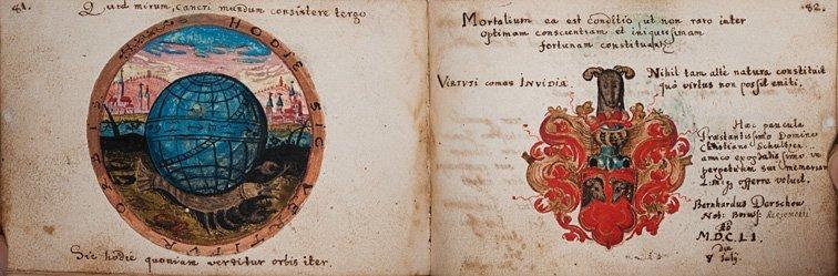 Album manoscritto - Christiano Schultze  [Album amicoru