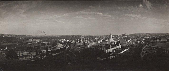 Josef Sudek (1896-1976) Panoramic view of Prague, ca. 1