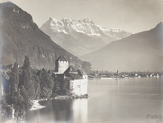 Frères & Cie. Charnaux  Geneve, Chateau Chillon, ca. 19