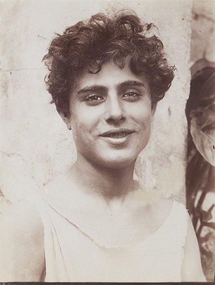 Wilhelm Von Gloeden (1856-1931) Sicilian Youth, ca. 190