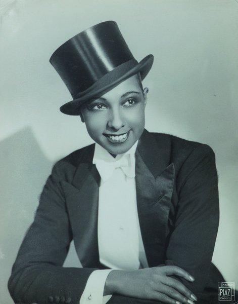 Studio Piaz Joséphine Baker in masculine dress, ca. 192