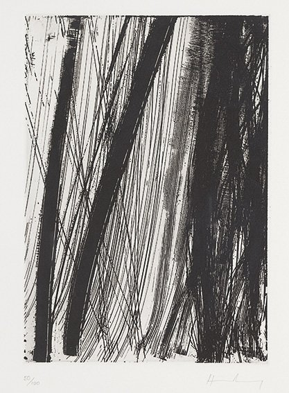 Hans Hartung (Lipsia, 1904 – Antibes, 1989) Composizion