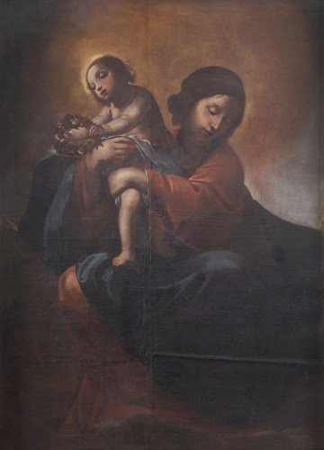 Cerchia di Alessandro Tiarini (Bologna 1577 - 1668)  Ma