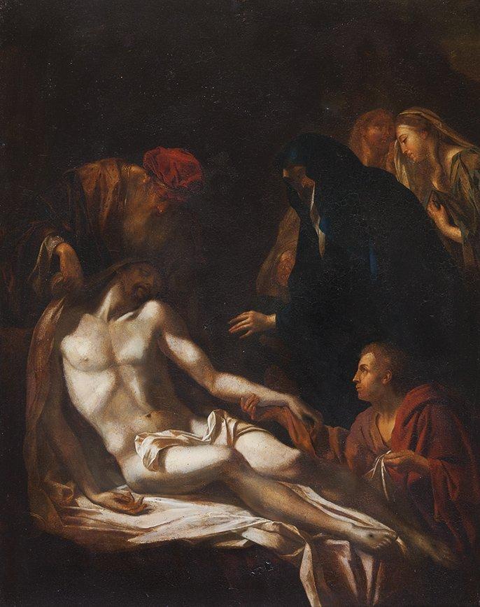 Pittore francese o fiammingo attivo a Roma, circa 1650