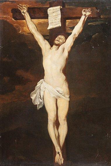 Maniera di Anton van Dyck Crocifissione