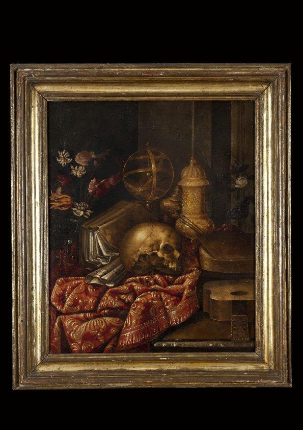 Carlo Manieri (Taranto 1629/31 - Roma 1700) Vanitas