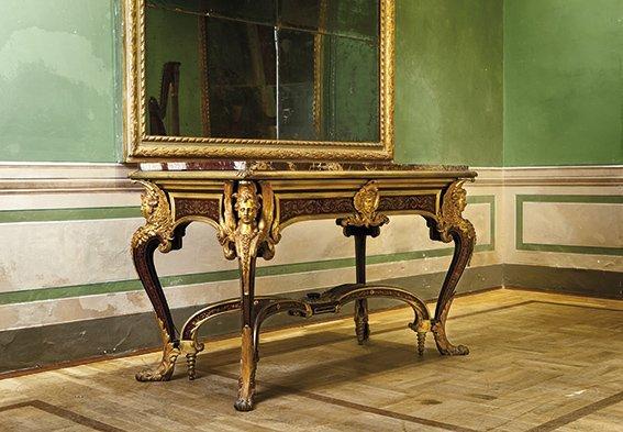 Tavolo Da Centro Francese, Da Modello Di Epoca Luigi X