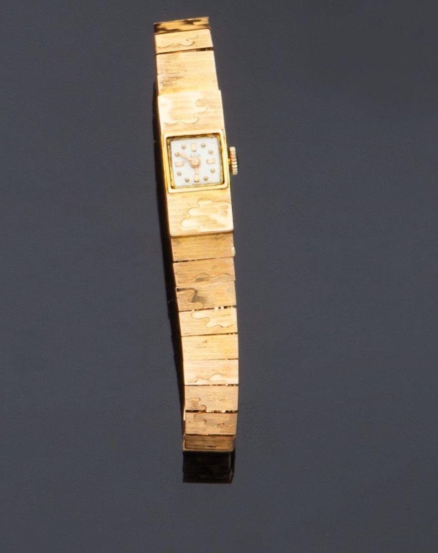 Bracciale orologio in oro giallo 18 kt, Agir Watch
