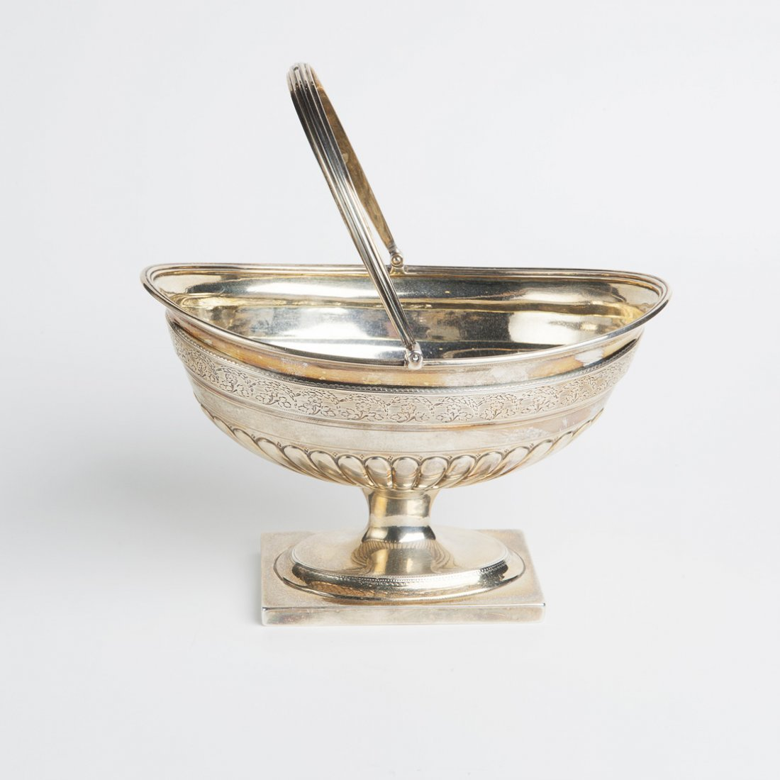 Vasetto ovale in argento 925, Londra 1796