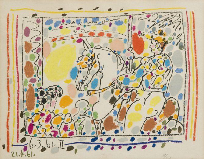Pablo Picasso (Málaga 1881 – Mougins 1973) Le Picador