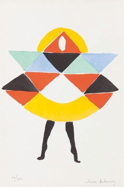 Sonia Delaunay (Ucraina 1885 - Parigi 1979) Danseuse, 1