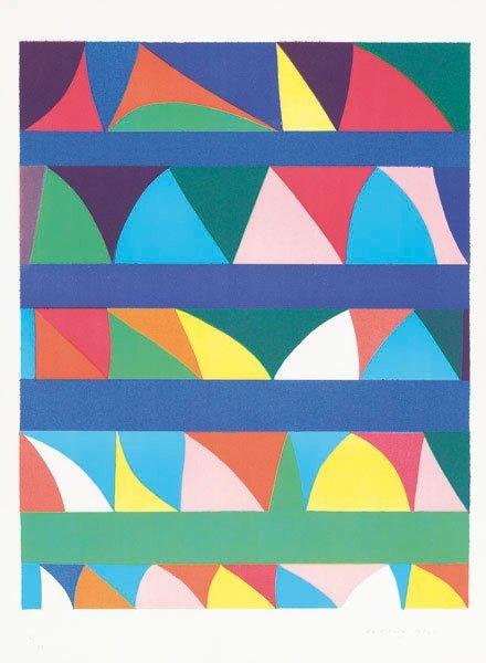 Piero Dorazio (Roma 1927 - Perugia 2005) Composizione,
