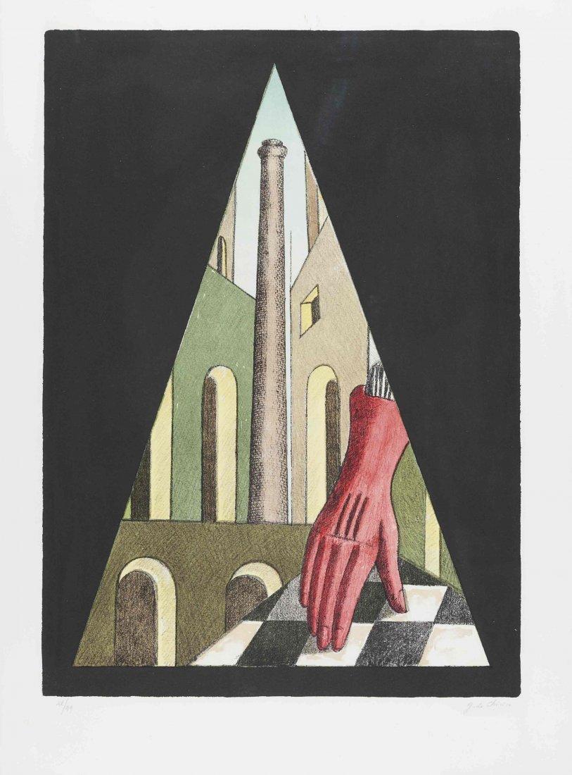 Giorgio de Chirico (Volos 1888 - Roma 1978) Il guanto,