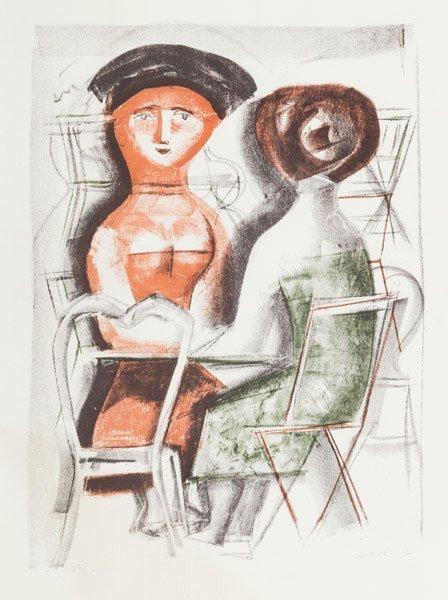 Massimo Campigli (Berlino 1895 - Saint-Tropez 1971) Do