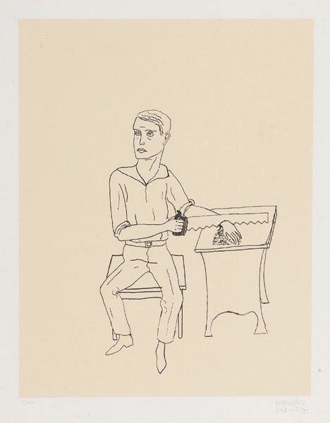 Maurice Henry (Cambrai 1907 - Milano 1984) La sega