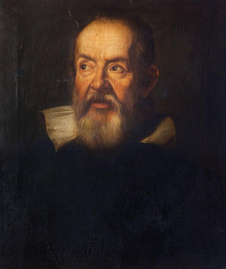 Maniera di Justus Susterman Ritratto di Galileo Galilei