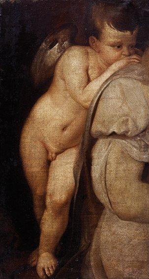 Scuola italiana, secolo XIX, da Tiziano Vecellio