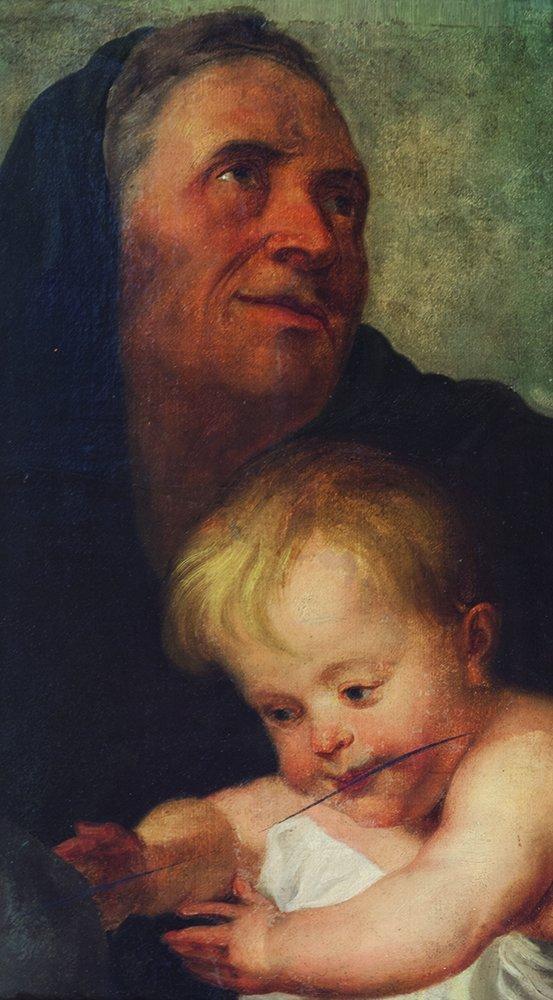 Scuola europea, secolo XIX, da Rubens Sant'Anna con il
