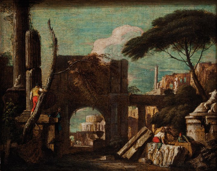 Studio di Marco Ricci  (Belluno 1676 – Venezia 1730)