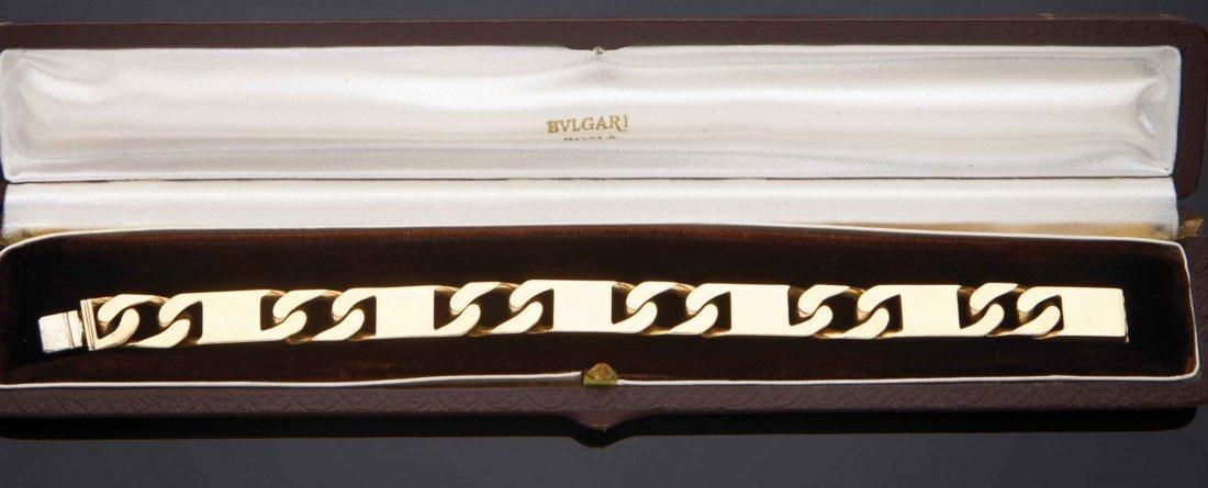 Bracciale in oro giallo 18 kt, Bulgari