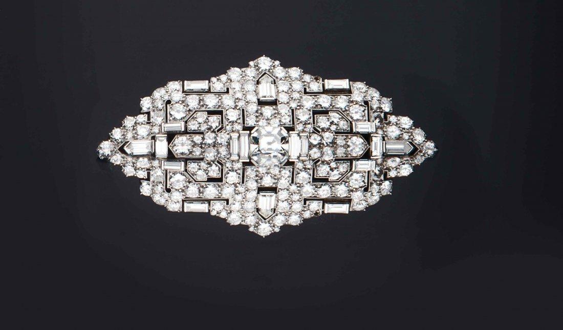 Spilla/pendente in platino, Bulgari