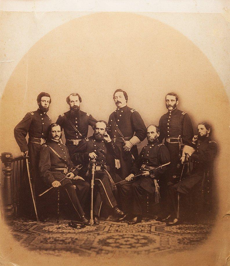 Anonimo Ufficiali della Guerra Civile Americana, ca. 18