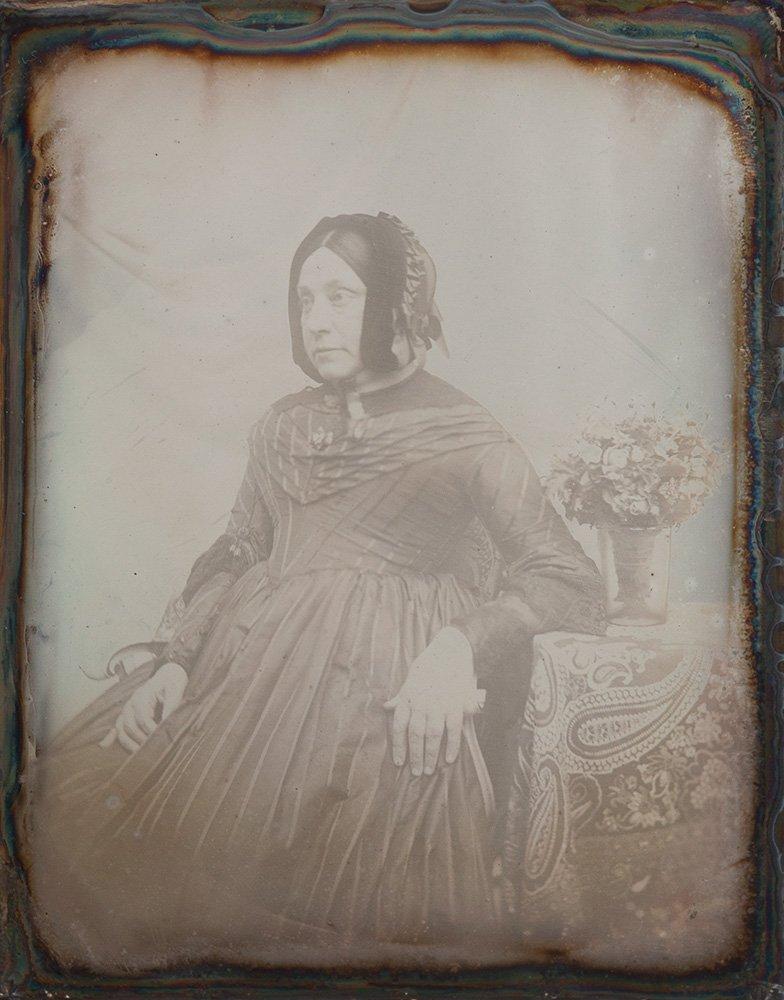 Anonimo Contessa Teresa Condronchi Argeli, ca. 1845-50