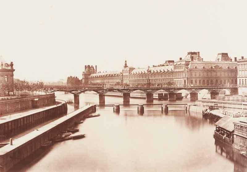 Édouard Denis Baldus (1813-1882) La Grande Galerie, Par