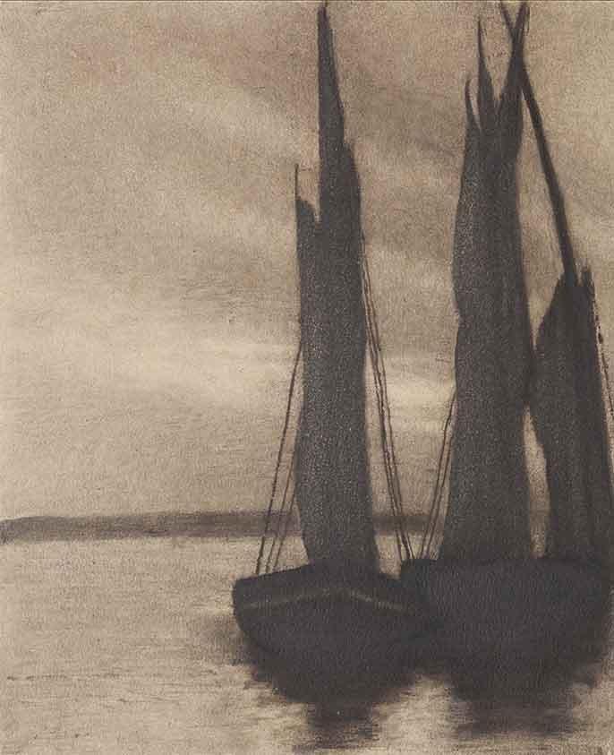 Domenico Riccardo Peretti Griva (1882-1962) Vele a ripo