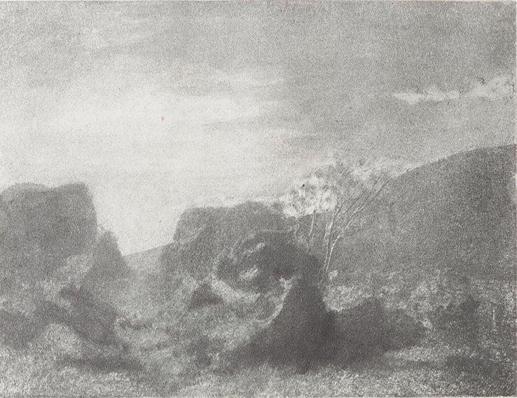 Domenico Riccardo Peretti Griva (1882-1962) Paesaggio,