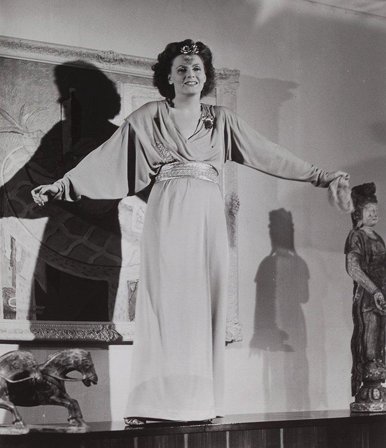 "Anonimo Greta Garbo ""The two faced woman"", 1941"