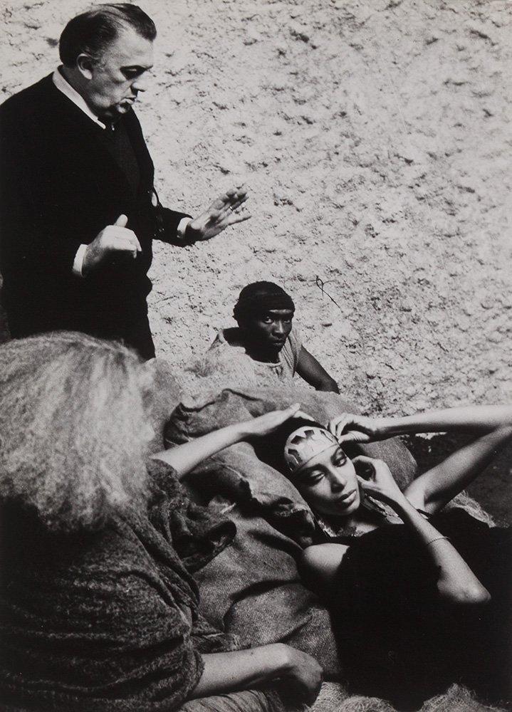 "Erich Kocian Federico Fellini ""Satyricon"", 1969"