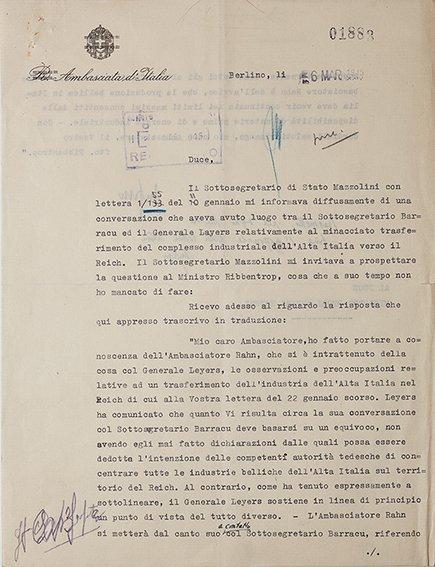 Anfuso, Filippo & Joachim von Ribbentrop