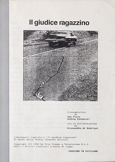 Cinema - Ugo Pirro e Andrea Purgatori