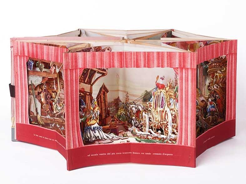 Libro teatro Hoepli - Carousel book