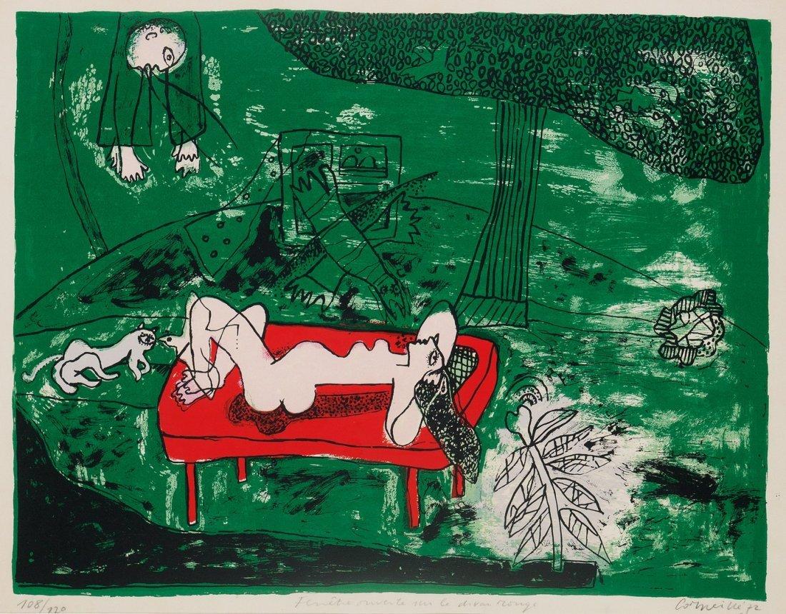 Corneille (Guillaume Cornelis Van Beverloo, Liegi 1922