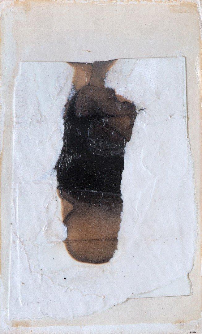 Alberto Burri (Citt di Castello 1915 - Nizza