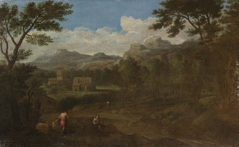 Cerchia di Gaspar Dughet (Roma 1615 - 1675)