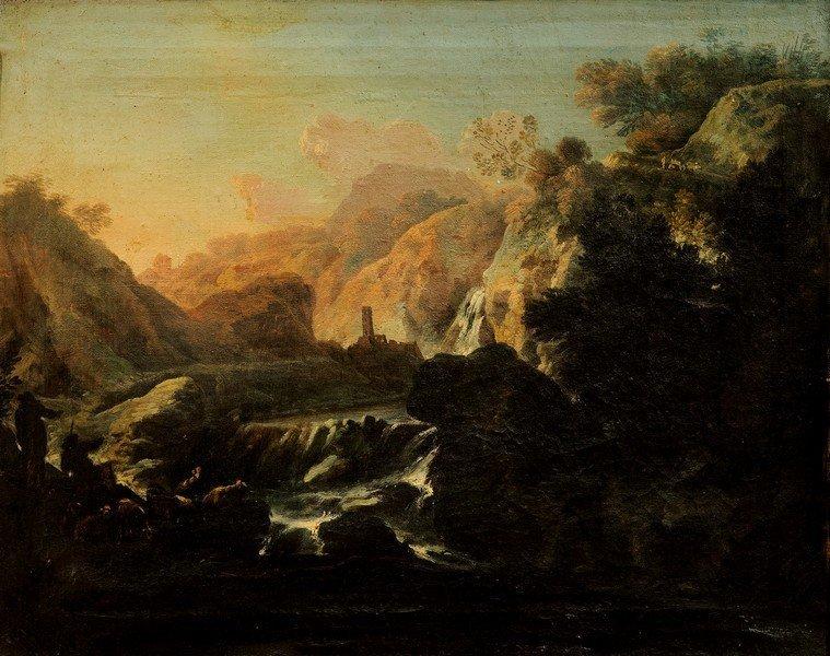Cerchia di Alessio de Marchis (Napoli 1684 - Perugia