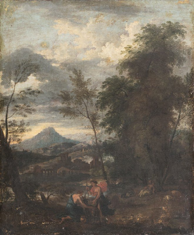 Scuola romana, secolo XVII, nei modi di Jan Frans van
