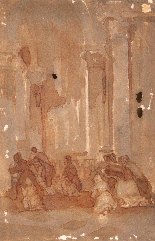 Attribuito a Gioacchino Toma (Galatina 1836 – Napoli