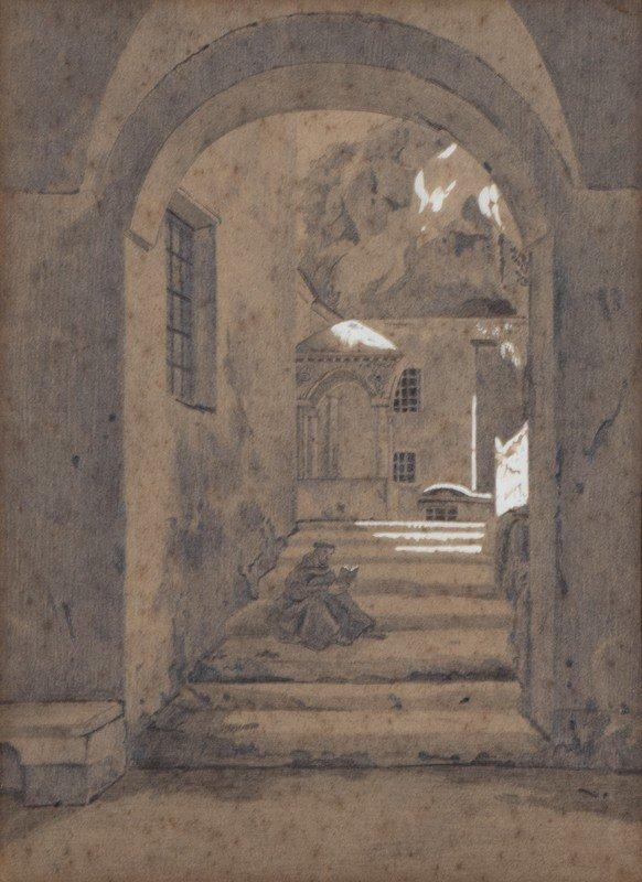 Attribuito a Gioacchino Toma (Galatina 1836 – Napoli - 2