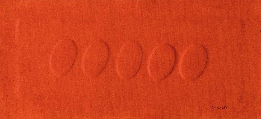 Turi Simeti (Alcamo 1929)