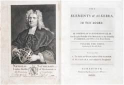 Algebra - Saunderson, Nicholas